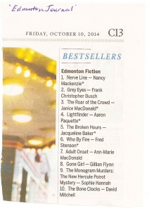 Nerve Line is #1 on the Best Sellers List